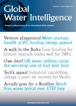 Water investments surge on new VC wave - Global Water Intelligence, August 2012